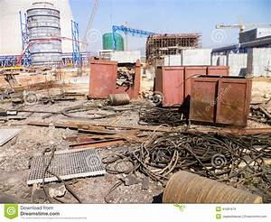 Messy Construction Site Stock Photo - Image: 41081679