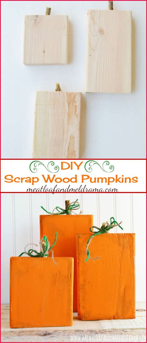 Was Kostet Holz by Rustic Scrap Wood Pumpkins Meatloaf And Melodrama