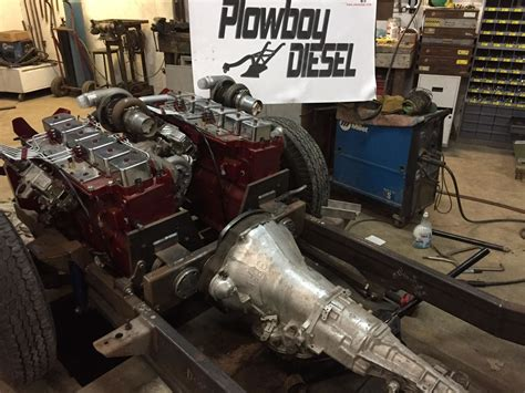 Dodge Truck Engines by This Dodge Truck Is A Engine Diesel Burnout