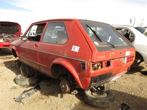 old volkswagen rabbit junkyard find 1984 volkswagen rabbit the truth about cars