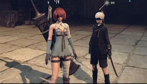New Nier Automata DLC Gameplay Shows Hair Color Change New Costume Self-Destruction and More