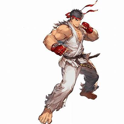 Ryu Fighter Street Freepngimg Icon Games Clipart