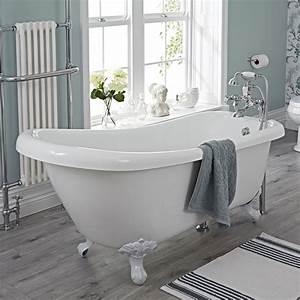 Freistehende Badewanne Mit Füßen : freistehende badewanne roma mit ausw hlbaren f en ~ Frokenaadalensverden.com Haus und Dekorationen