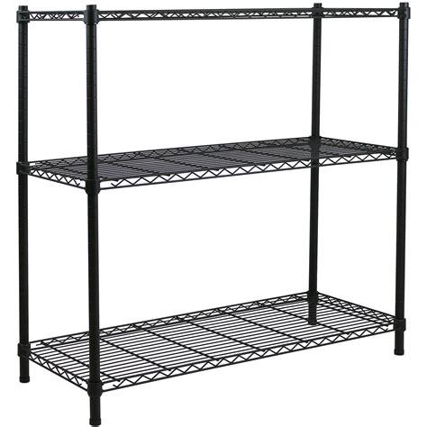 3 Tier Metal Storage Rackshelving Book Shelf Kitchen
