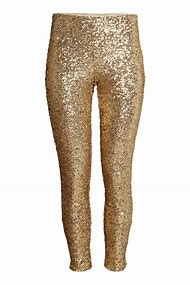 Gold Colored Pants