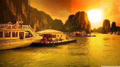 Ha Vietnam Bay Desktop Wallpapers 4k Vinh