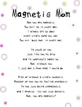 magnetic mom mothers day poem  tangled  teaching tpt