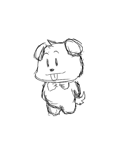 sketch doggie puppy  image  pixabay