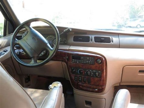 sell   ford windstar limited edition mini