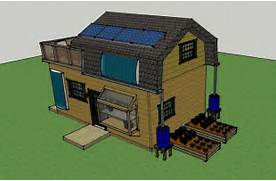 Off Grid Home Design by Misty 39 S 400 Sq Ft 16x25 Solar Off Grid Small House