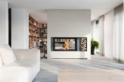 rideau cuisine design cheminee foyer ouvert