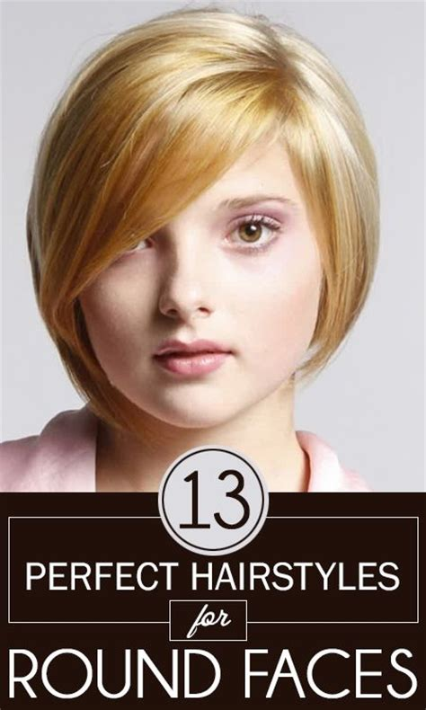 Perfect Hair For Round Face