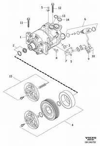 Volvo Xc90 Control Valve  Compressor  For 31390266