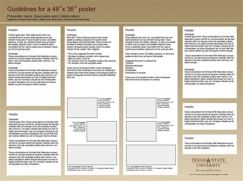 Research Poster Template Research Poster Template Office Of Research And