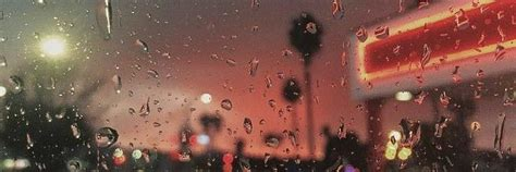 You don't need to download complicated software or have any special design skills. twitter header window raindrops at the sunset (With images ...