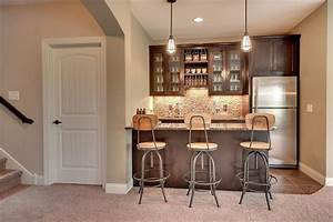Best 25 small basement bars ideas on pinterest man cave for Kitchen cabinets lowes with basement wall art ideas