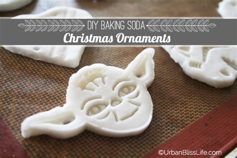 diy bliss baking soda christmas ornaments urban bliss life