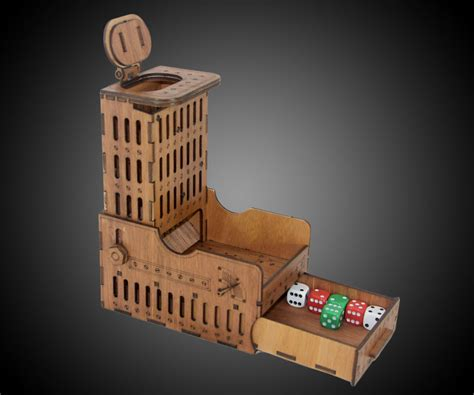 collapsible dice tower storage boxes dudeiwantthatcom