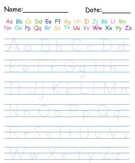 tracing handwriting worksheets writing
