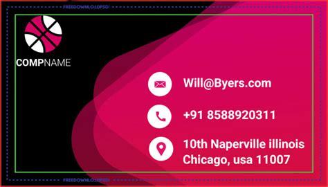 graphic designer business card psd freedownloadpsdcom