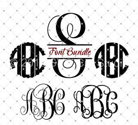 My resource library is open to anyone and is free! SVG Cut Files for Cricut and Silhouette - Font Bundle SVG ...