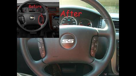 add steering wheel controls impala
