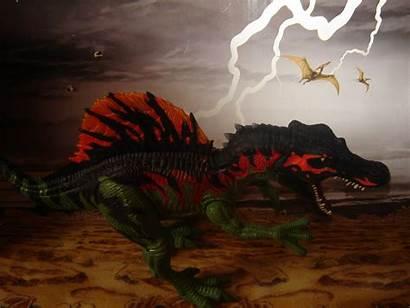 Spinosaurus Jurassic Park Toy Wallpapersafari Wiki Villains