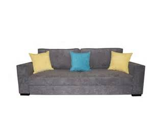 Canape 4 Places Tissus by Canap 233 Convertible 4 Places Elsa Tissu Anthracite
