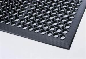 tapis caillebotis caoutchouc 2 epaisseurs differentes With tapis caoutchouc caillebotis