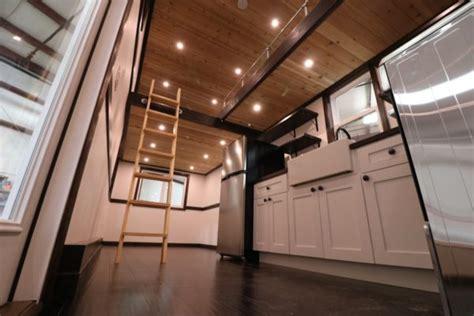 family  threes  grid tiny house  ft loft  loft catwalk