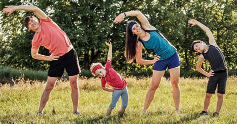 Easy ways to keep the whole family fit and healthy Thane