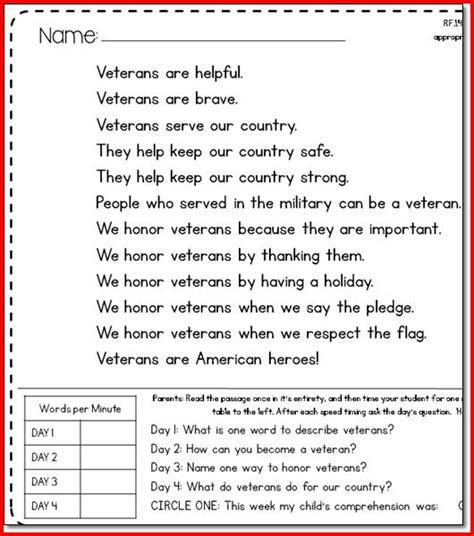 Free Worksheets For Reading Fluency  Reading Fluency Worksheets For 3rd Grade Kristal Project
