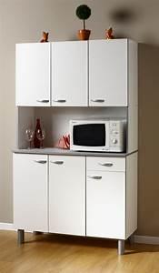 Meuble Cuisine Pas Cher : meuble de cuisine blanc pas cher cuisine encastrable meubles rangement ~ Teatrodelosmanantiales.com Idées de Décoration