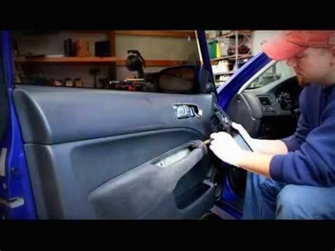honda civic door panel removalhow  repair  power