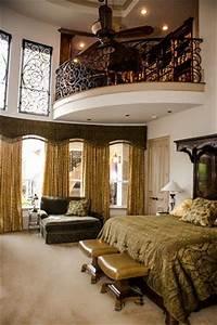 mediterranean bedroom with an indoor balcony house ideas With best bedroom with balcony interior