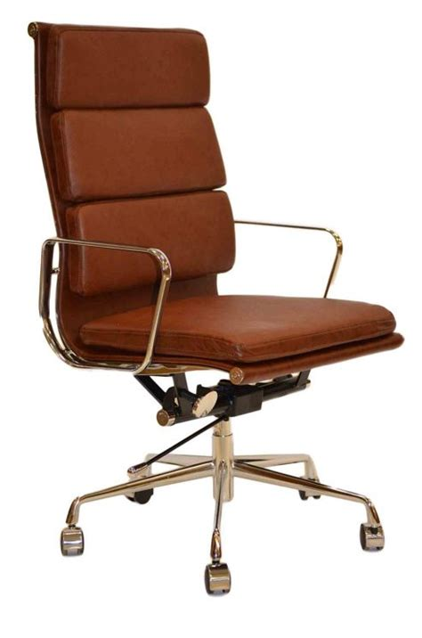 buy eames ea219 inspired high back soft pad leather office