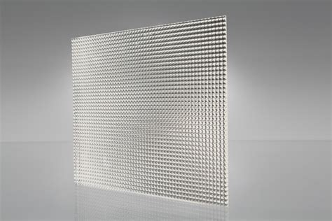 Acrylic Clear Prismatic K12 Sheet 1220x610x2.8mm Light
