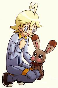 Pokemon Xy Clemont Bunnelby Images | Pokemon Images