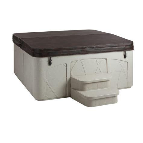 lifesmart 4 person rectangular tub shop lifesmart 5 person rectangular tub at lowes