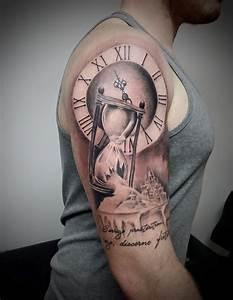 Broken hourglass tattoo | Sleeve_mtrl | Pinterest ...