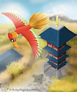 The Legend Of The Rainbow Bird Ho Oh By Theangeldragon On