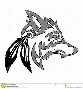 32 best Wolf Head Tribal Tattoo Designs images on ...
