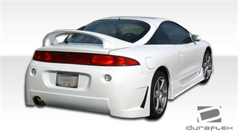 Kit For Mitsubishi Eclipse by Fiberglass Rear Bumper Kit For 1999 Mitsubishi