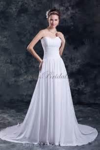 a line wedding dresses allens bridal chiffon sweetheart neckline chapel a line wedding dress