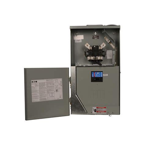 Eaton Amp Space Circuit Main Breaker Meter