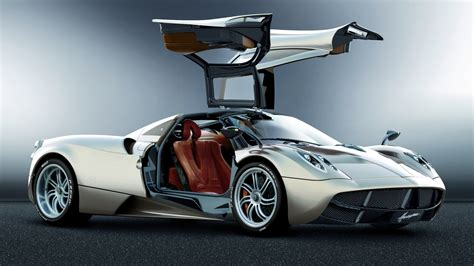 Cars With Wing Doors : Full Hd Wallpaper Pagani Huayra Luxury Coupe Gull-wing