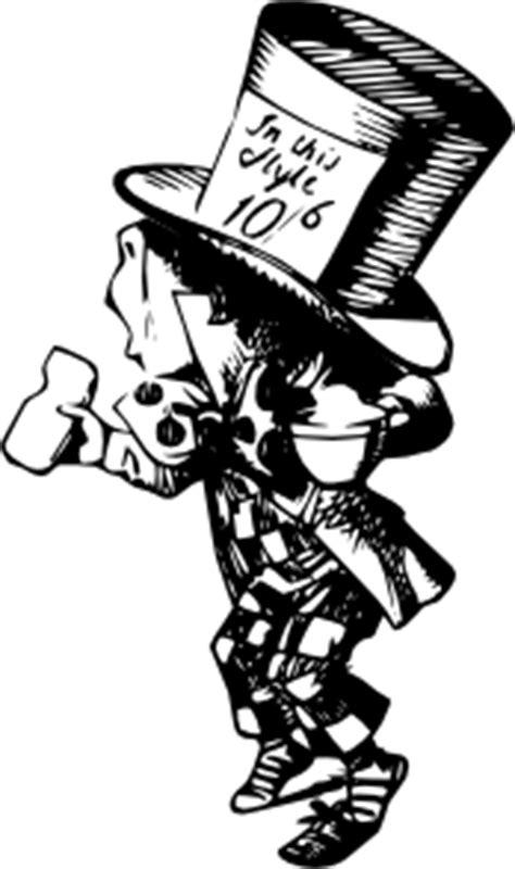 Mad Hatter clip art (106213) Free SVG Download / 4 Vector