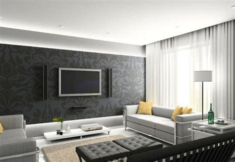 Wandgestaltung Wohnzimmer Modern by 120 Wohnzimmer Wandgestaltung Ideen