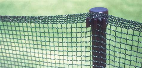 portable temporary mesh outfield fencing  ground