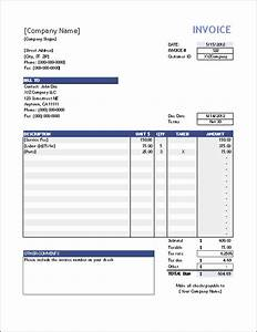 Vertex42 Invoice istant  Invoice Manager for Excel